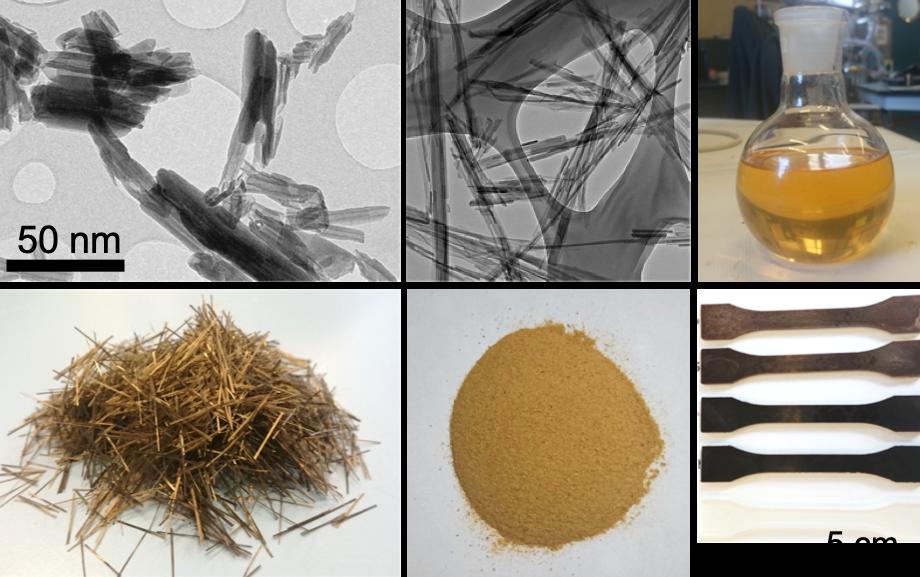 Síntesis y formulación de nuevos materiales