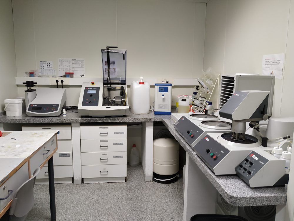 Preparación metalográfica